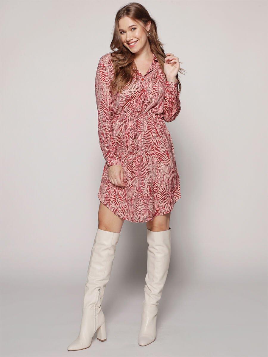 jurk rosa